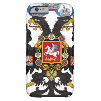 Coat of Arms of the Russian Empire Tough iPhone 6 Case