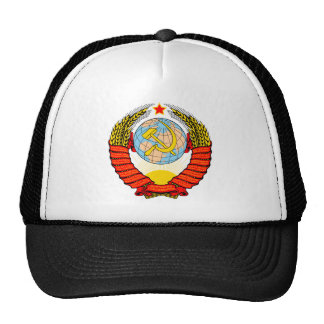 Coat of Arms of the Soviet Reunion Cap