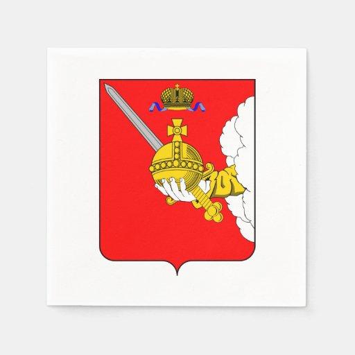 Coat of arms of Vologda oblast Napkin
