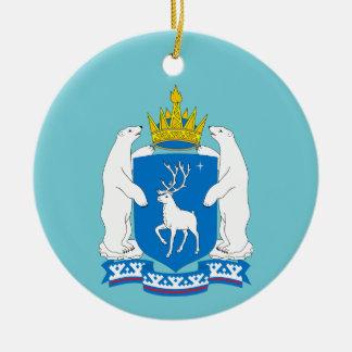 Coat of arms of  Yamal-Nenetsia Christmas Ornament