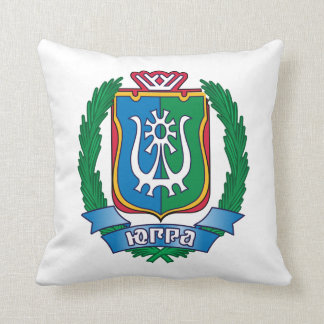 Coat of arms of  Yugra Cushion