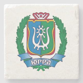 Coat of arms of  Yugra Stone Coaster