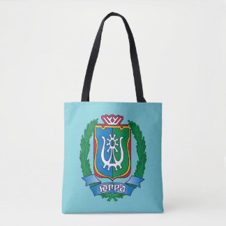 Coat of arms of  Yugra Tote Bag