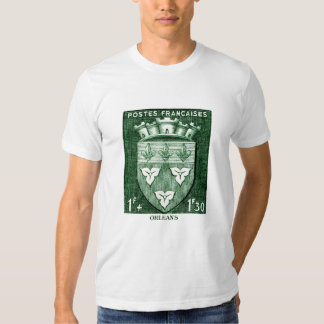 Coat of Arms, Orleans France T-shirts