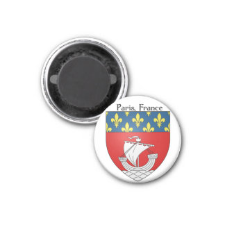 Coat of Arms Paris, France Magnet
