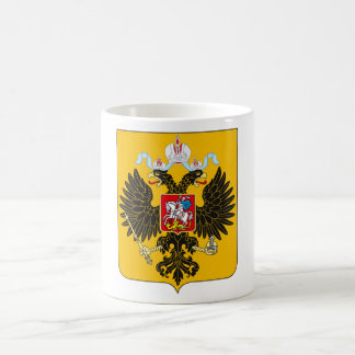 Coat of Arms Russian Empire Official Russia Logo Coffee Mug