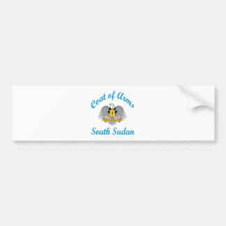 Coat Of Arms South Sudan Bumper Stickers