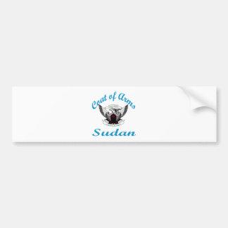 Coat Of Arms Sudan Bumper Sticker