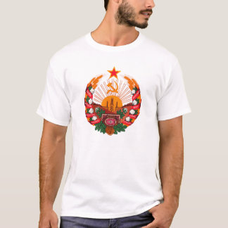 Coat of arms Turkmenistan Official Heraldry Symbol T-Shirt