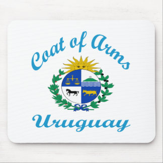 Coat Of Arms Uruguay Mouse Pad