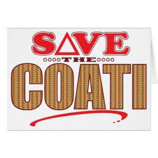 Coati Save Card