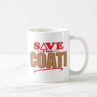 Coati Save Coffee Mug