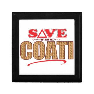 Coati Save Gift Box