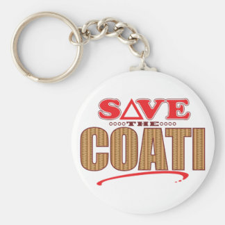Coati Save Key Ring