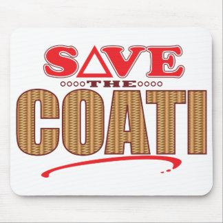Coati Save Mouse Mat