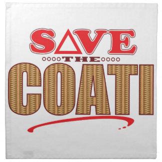 Coati Save Napkin