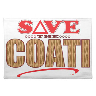 Coati Save Placemat
