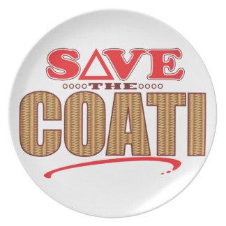 Coati Save Plate