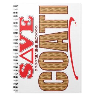 Coati Save Spiral Notebook