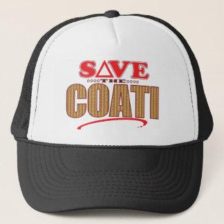 Coati Save Trucker Hat