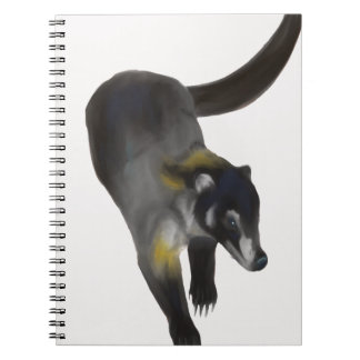 Coati Spiral Notebook