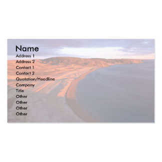 Coats Island Coastline, Hudson Bay, NWT, Canada Double-Sided Standard Business Cards (Pack Of 100)