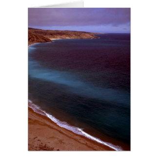 Coats Island coastline, Hudson Bay, NWT, Canada Greeting Card