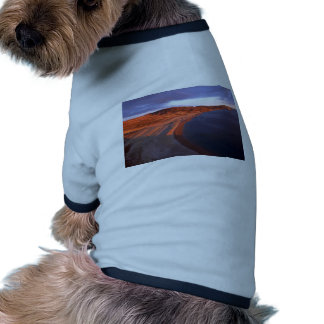 Coats Island Coastline, Hudson Bay, NWT, Canada Ringer Dog Shirt