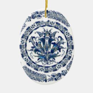 Cobalt Blue Christmas Ornaments