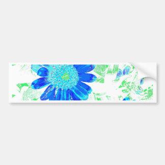 Cobalt Blue Dahlis Bumper Sticker