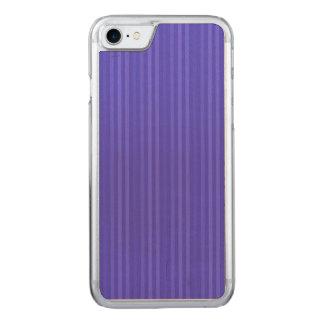 Cobalt Blue Vertical Stripes Carved iPhone 8/7 Case