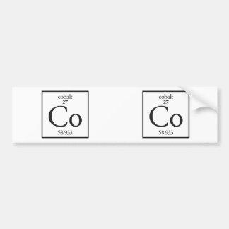 Cobalt Bumper Sticker