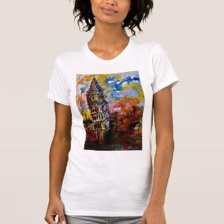 CobaltMoonDesign Women's - Big Ben Strikes Ten T-Shirt