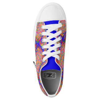 Cobaltrainbow Printed Shoes