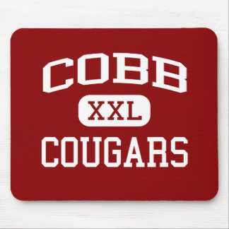 Cobb - Cougars - Middle School - Houston Texas Mouse Pad