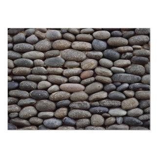 Cobble stone 13 cm x 18 cm invitation card