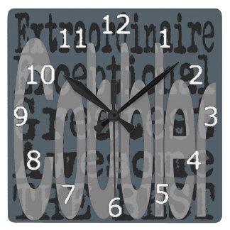 Cobbler Extraordinaire Clock