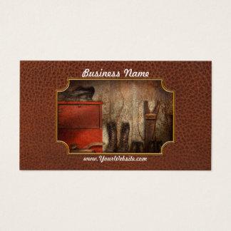 Cobbler - The shoe shiner 1900  Business Card