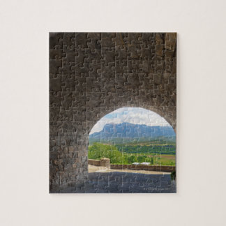 Cobblestone road, Pyrenees mountains Jigsaw Puzzle