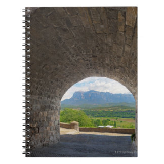 Cobblestone road, Pyrenees mountains Note Books