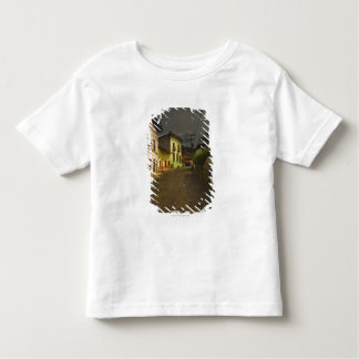 Cobblestone Road & Yellow Buildings in Mexico Toddler T-Shirt