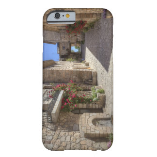 Cobblestone street, stone buildings, historic barely there iPhone 6 case