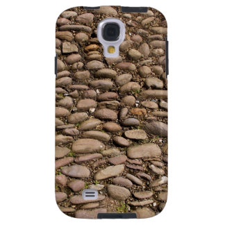 Cobblestones Stable Courtyard Cotehele Cornwall UK Galaxy S4 Case