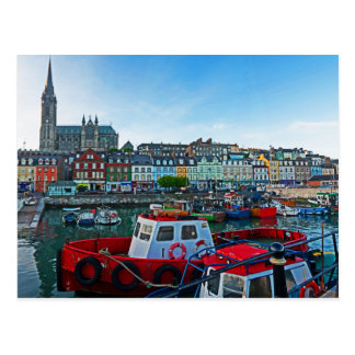 Cobh Harbor Postcard