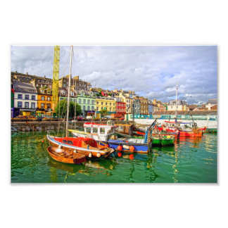 Cobh Port in Ireland Photo Print