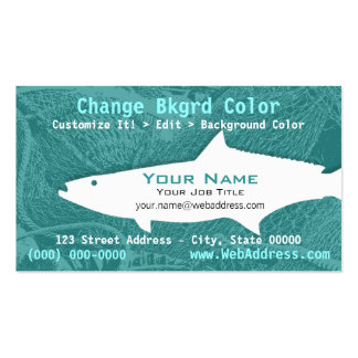 Cobia Fish Business Card