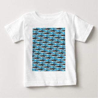 CobiaPattern9ksBlue.jpg Baby T-Shirt