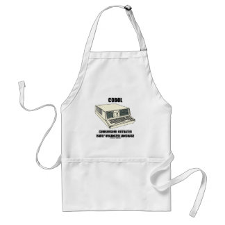 COBOL Cumbersome Outdated Badly Organized Language Aprons