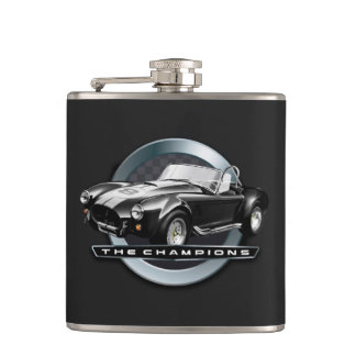 Cobra 427 black hip flask