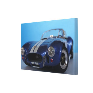 COBRA BLUE - Photography Jean Louis Glineur Canvas Print